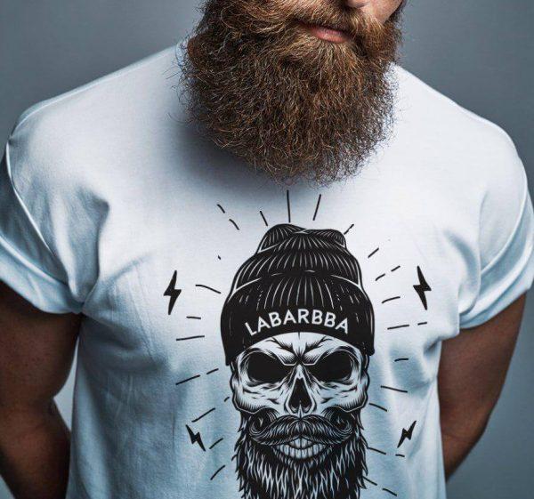 camiseta calaveras labarbba