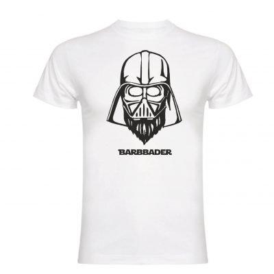 Camiseta Barbbader LaBarbba blanca