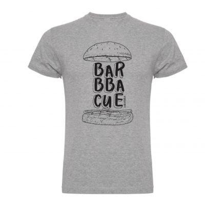 Camiseta BBQ LaBarbba gris