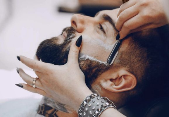 navaja de afeitar